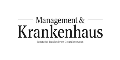 Logo Management & Krankenhaus
